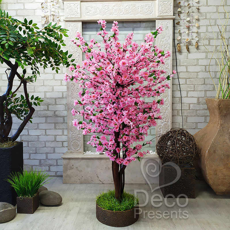 Дерево сакура своими руками из искусственных цветов