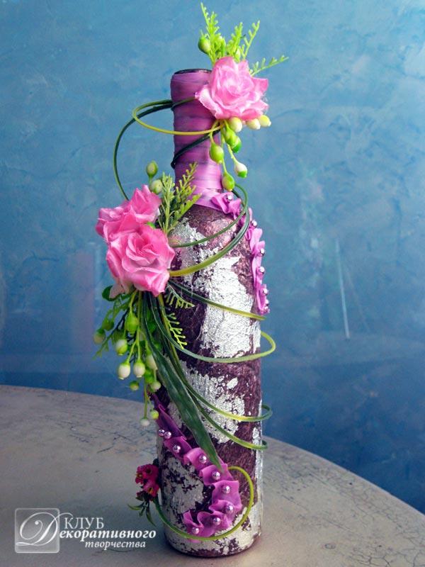Составить композицию из искусственных цветов своими руками