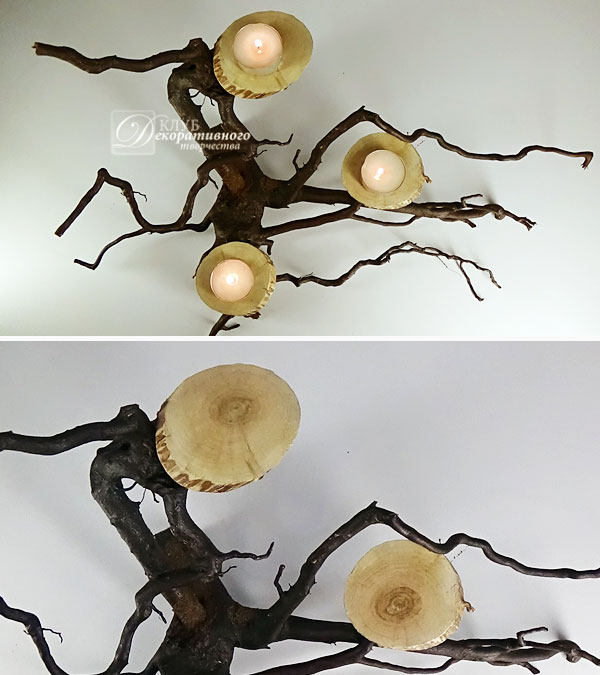 Дорожка из спилов дерева практичный элемент декора в