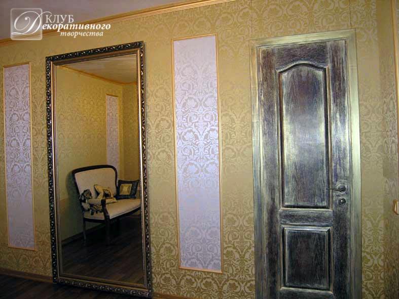 Декор входных дверей своими руками фото